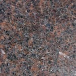 Bras & Mattos Sample- Domestic Mahogany Granite for hedstones