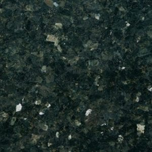 Bras & Mattos Sample - Emerald Pearl Granite for headstone