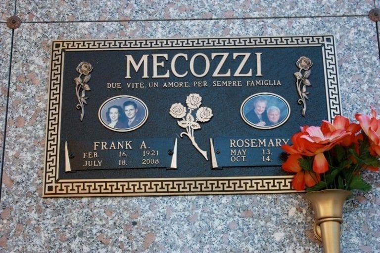 Mecozzi Roses Bronze Memorial