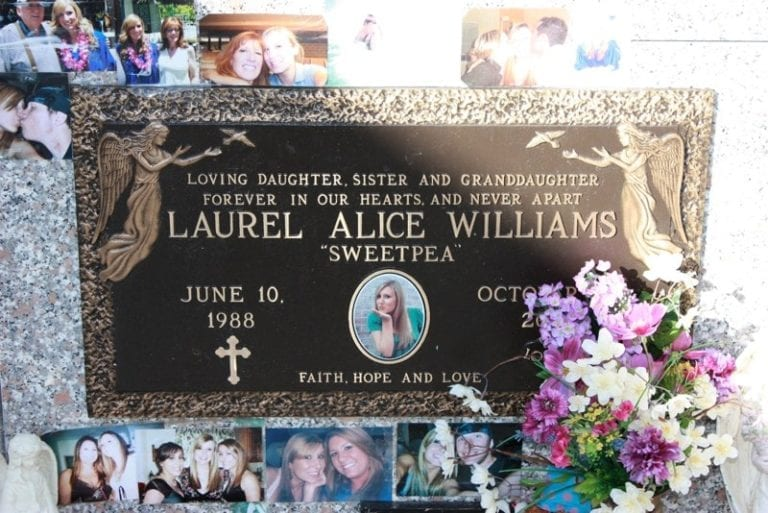 Alice Faith Bronze Plaque