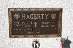 Hagerty Adorned Bronze Memorial