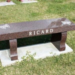 Ricard Custom Bench Monument