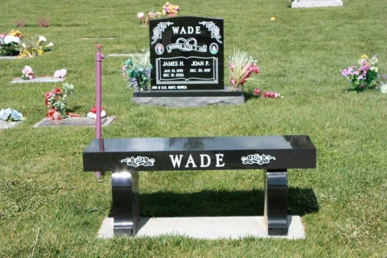 Wade Bench and Upright Memorial
