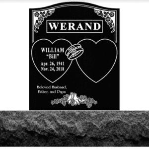 Werand Custom Upright Memorial