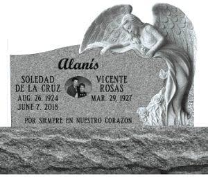 Alanis Custom Carved Angel