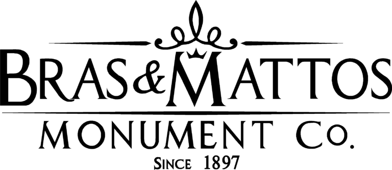 Bras & Mattos Monument Co. Logo