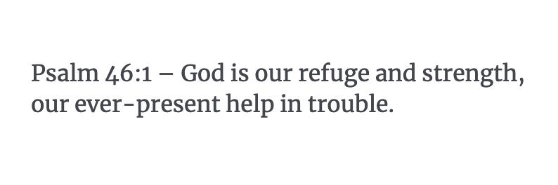 Psalm 46:1 Verse