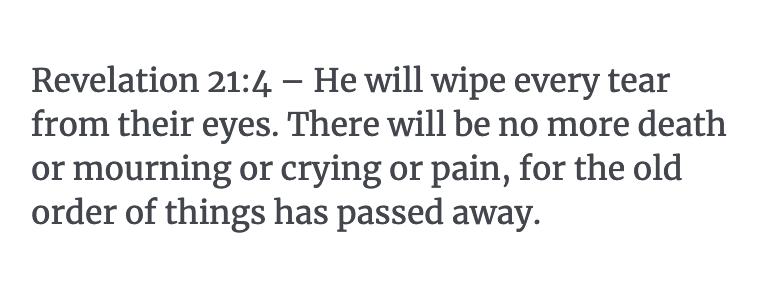 Revelation 21:4 Verse