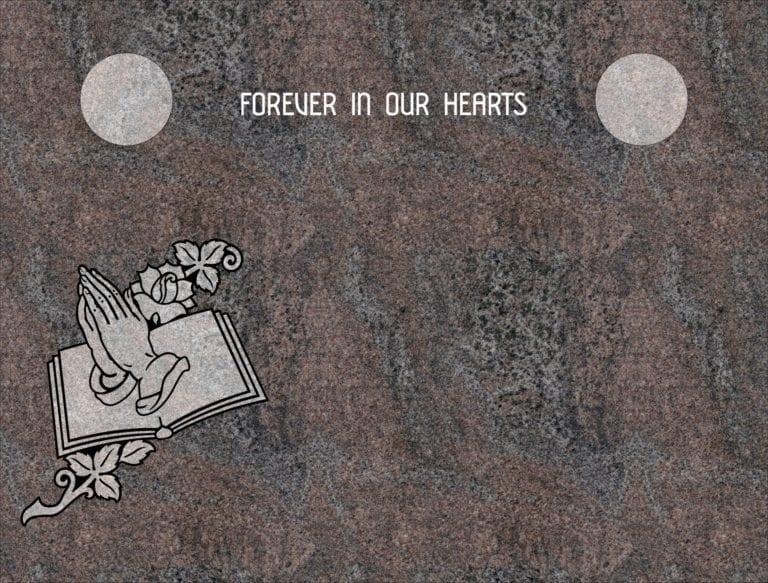 Paradiso Granite Headstones 12