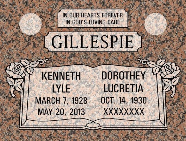 Maple Rose Granite Headstones 13