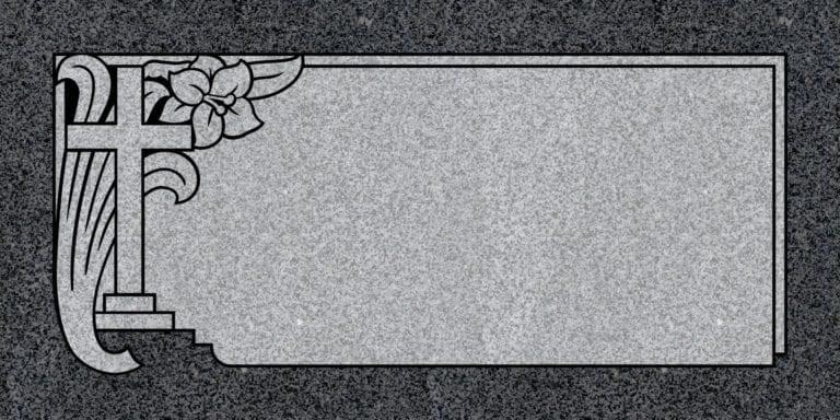 Regal Black Granite Headstones 19
