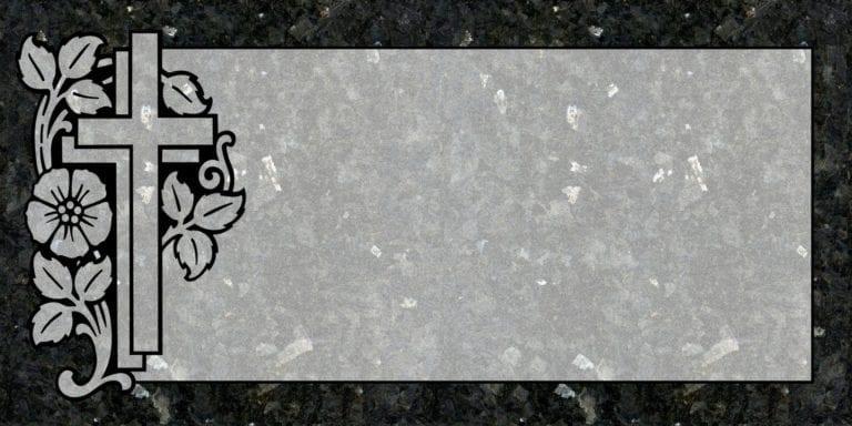 Blue Pearl Granite Headstones 23