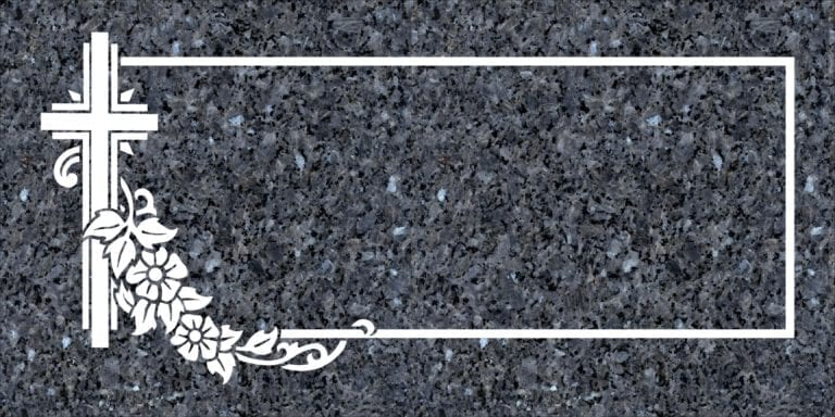 Blue Pearl Granite Headstones 21