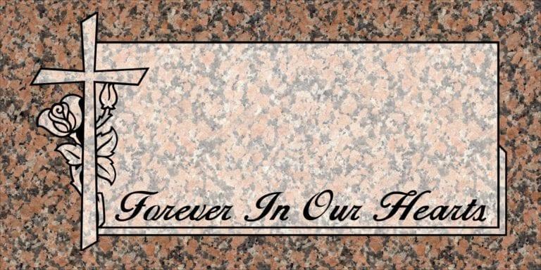 Maple Rose Granite Headstones 10