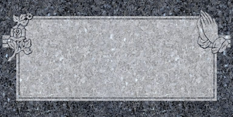 Blue Pearl Granite Headstones 20