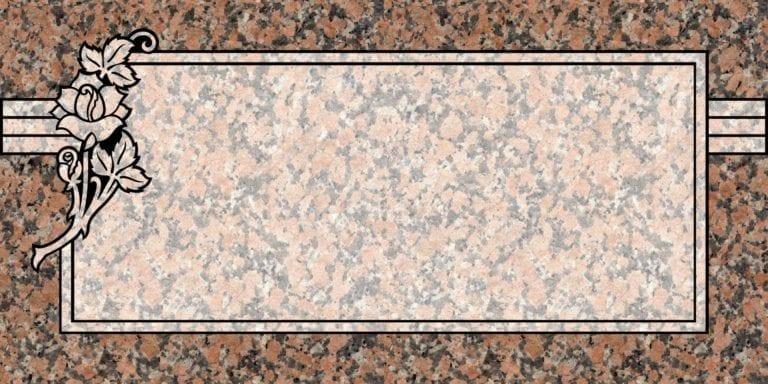 Maple Rose Granite Headstones 6
