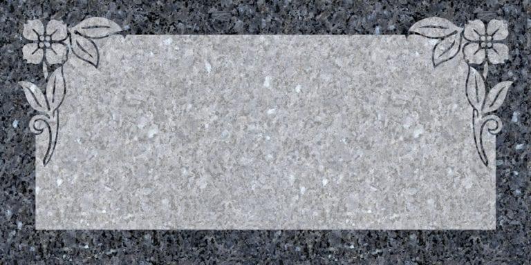 Blue Pearl Granite Headstones 19