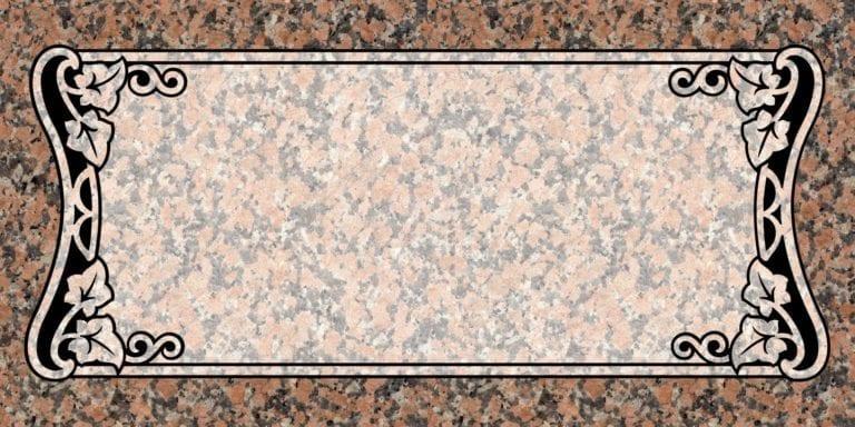 Maple Rose Granite Headstones 5