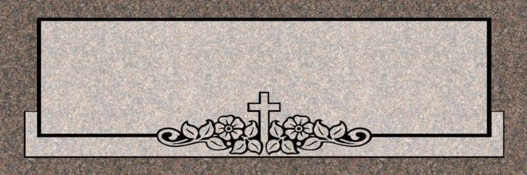 India Mahogany Granite Headstones 5