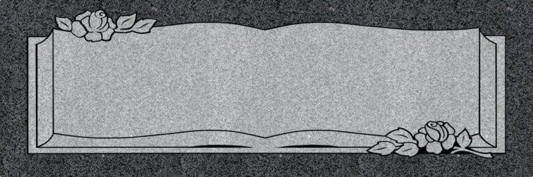 Regal Black Granite Headstones 14
