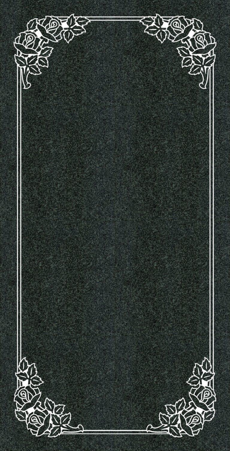 Regal Black Granite Headstones 31