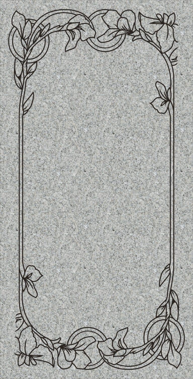 Sierra White Granite Headstones 6