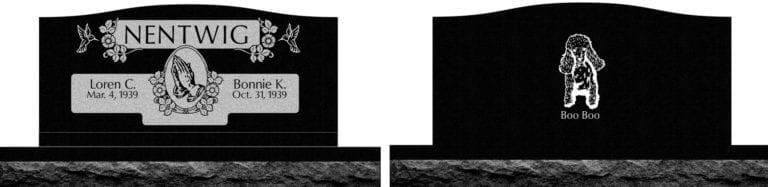 India Black Granite Headstones 8