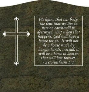 Designing an Upright Headstone Monument. 14