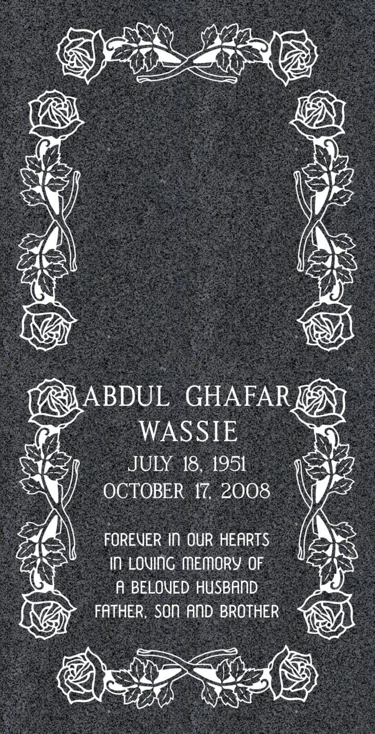 Ledger Grave Markers
