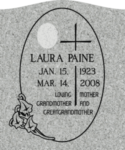 Designing an Upright Headstone Monument. 15