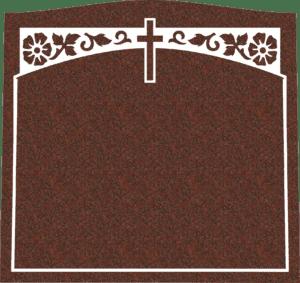 Single Memorial Upright Headstones 4
