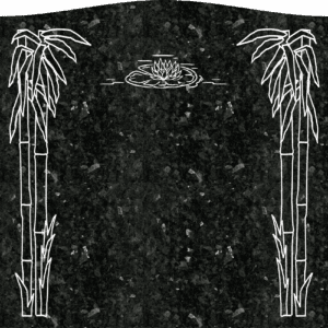 Single Memorial Upright Headstones 3