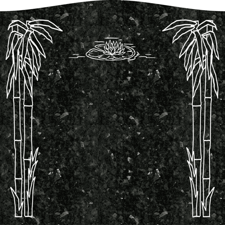 Emerald Pearl Granite Headstones 2