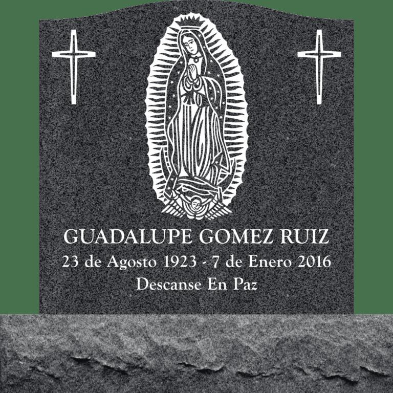 Regal Black Granite Headstones 5