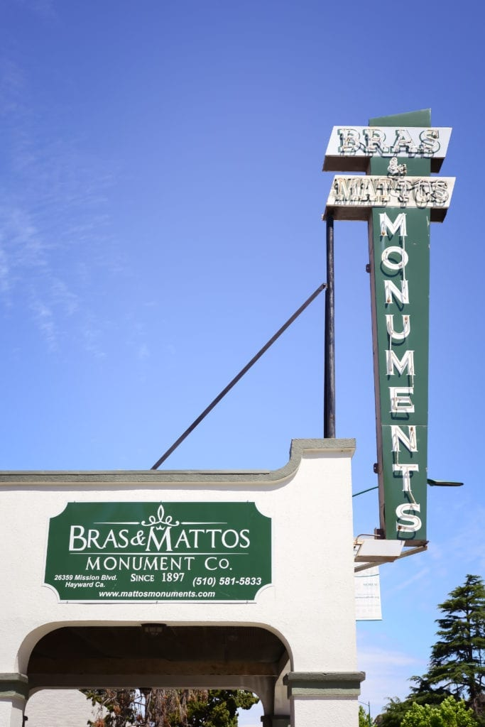 Bras and Mattos Monuments | Hayward, CA
