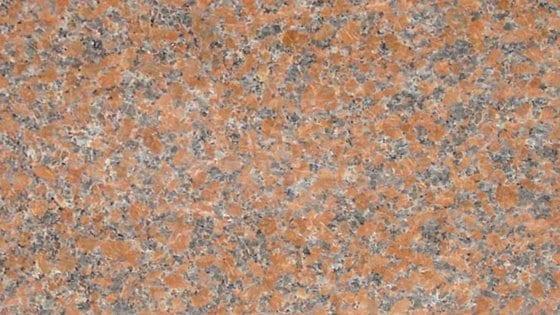 Maple Rose Granite Color Sample - Maple Rose Granite Headstones