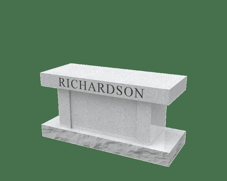Georgia Grey Granite Headstones 5