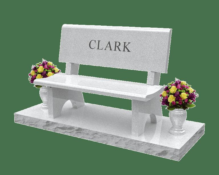 Sierra White Granite Headstones 1