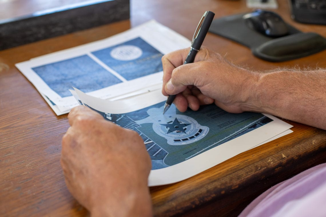 Castro Valley Veterans Memorial Plans
