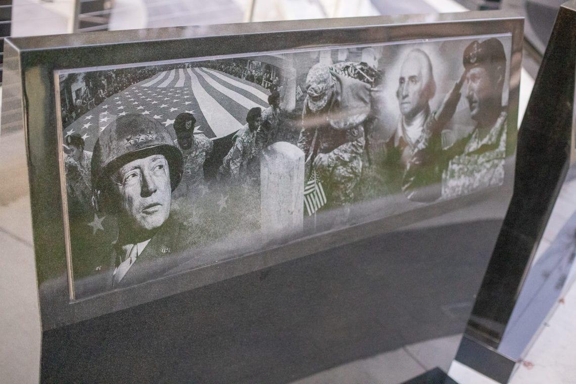 Castro Valley Veterans Memorial Etchings