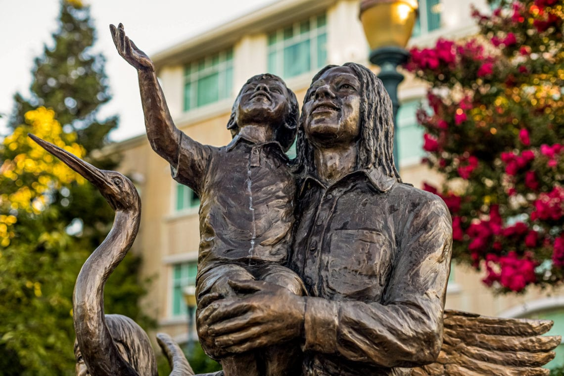Honoring a Legend: Gail Steele - Children's Civic Memorial 7