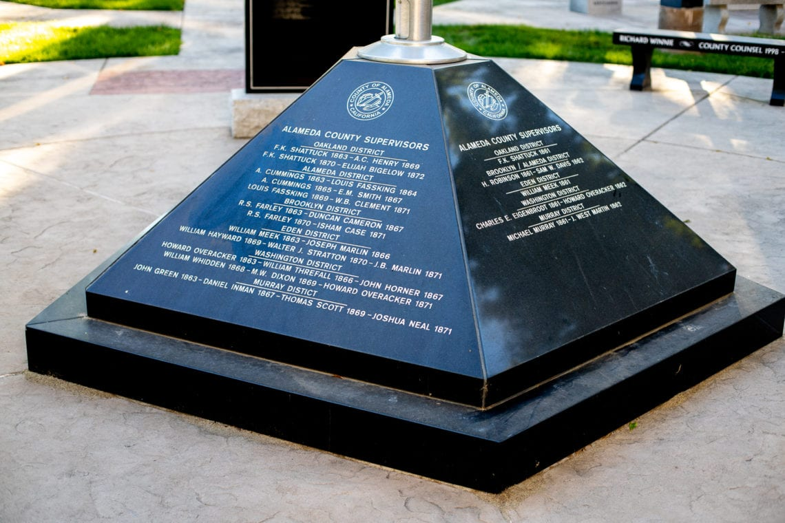 Alameda County Supervisor's Memorial