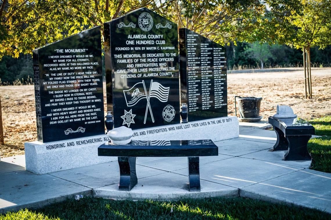 Alameda County One Hundred Club Memorial