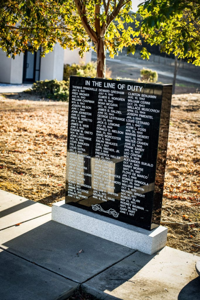 Alameda County One Hundred Club Memorial 4