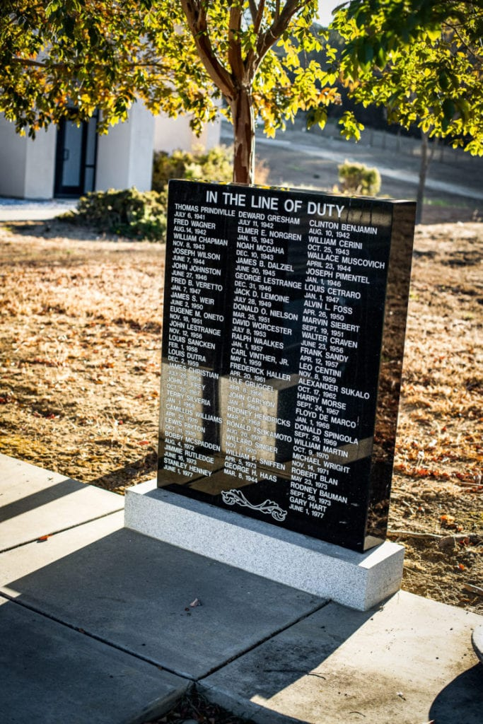 Alameda County One Hundred Club Memorial