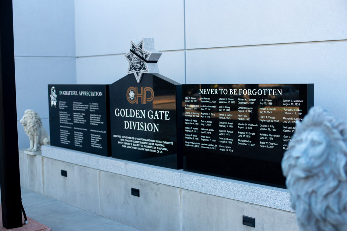 CHP Golden Gate Division Civic Memorial