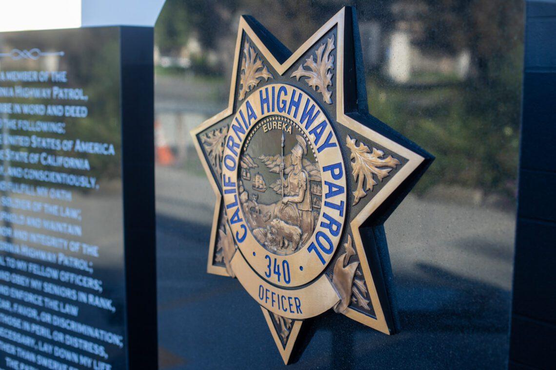 San Jose CHP Memorial Metal