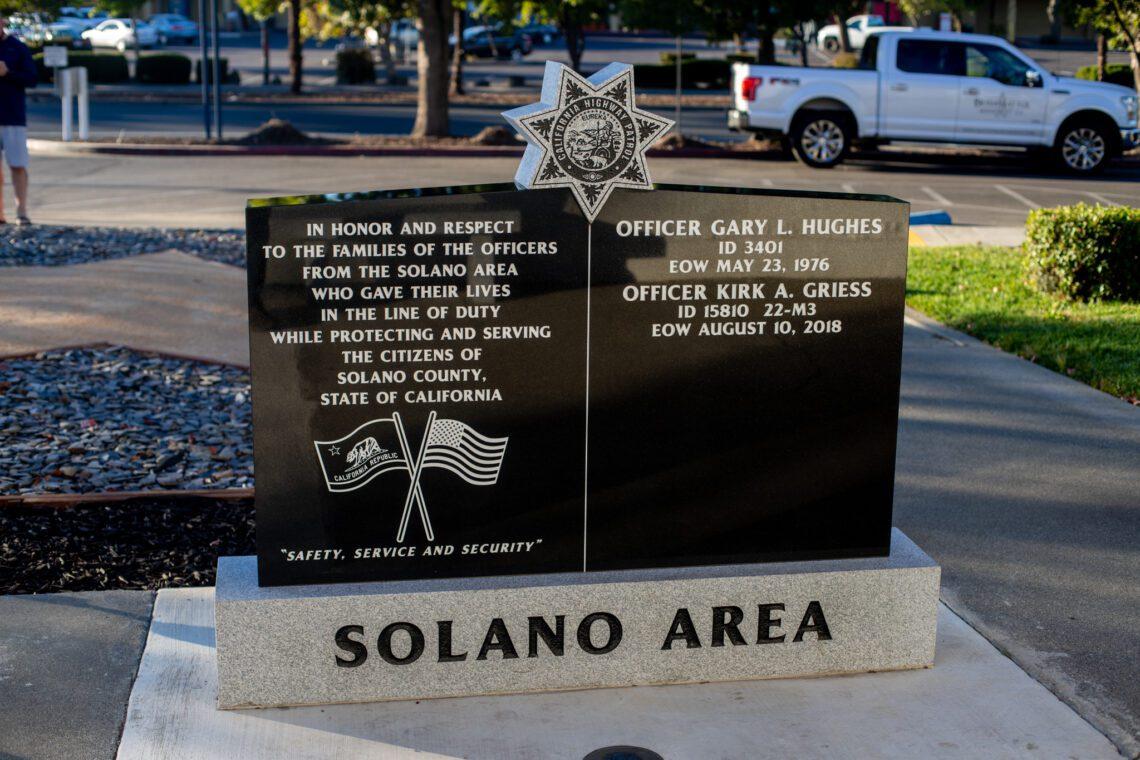 Solano Area CHP Memorial